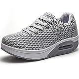 83625cde42 Donna Sneaker Comodo Scarpe,Casual Dimagrante Passeggio & Scarpe Outdoor  Tennis Piattaforma Running Scarpe Jogging Moda
