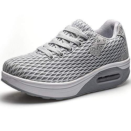 Donna Sneaker Comodo Scarpe,Casual Dimagrante Passeggio & Scarpe Outdoor Tennis Piattaforma Running Scarpe Jogging Moda