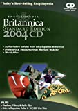 Encyclopaedia Britannica 2004, Standard Edition, 2 CD-ROMs Content: Merriam-Webster Collegiate Dictionary; Merriam-Webster Collegiate Thesaurus; Encyclopaedia Britannica Atlas; Encyclopaedia Britannica Timeline; Research Organizer; Web links -