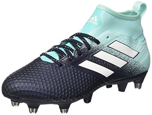 adidas Herren Ace 17.3 SG Fußballschuhe, Blau (Energy Aqua/Footwear White/Legend Ink), 41 1/3 EU
