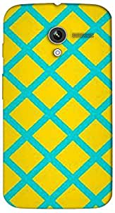 Timpax protective Armor Hard Bumper Back Case Cover. Multicolor printed on 3 Dimensional case with latest & finest graphic design art. Compatible with Motorola Moto -X-1 (1st Gen )Design No : TDZ-22851