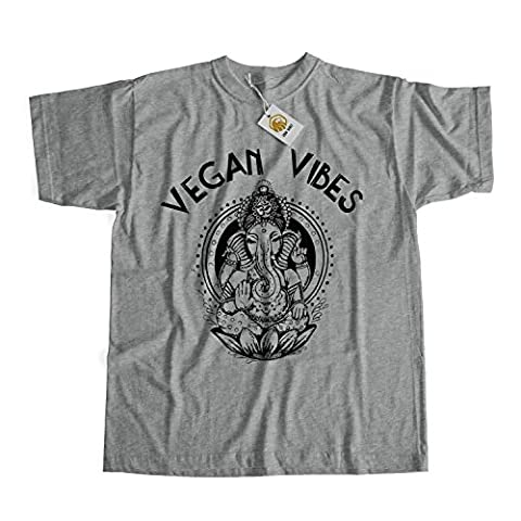 Vegan T-shirt Vegan Vibes Shirt Gift For Vegetarian Men Women Unisex Top Tees