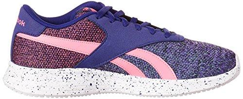 Reebok Royal Ec Ride Fs, Chaussures de Sport Femme, Violet (Lucid Lilac / Pur Fog / Slat / Tea Pur / Pink / Sa) Violet (Pigment Pur / Ryl Orc / Pink / Fie Fuc / Blue / Bl)