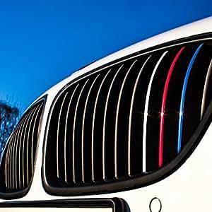 Motoking® Nierenaufkleber – REFLEKTIEREND – 24-teiliges Autoaufkleberset, 4 reflektierende Farben im Set (Dunkelblau, Rot, Weiß-Silber, Hellblau)