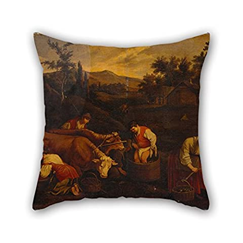 SkuGo Oil Painting Bassano, Francesco - Autumn Cushion Covers 16