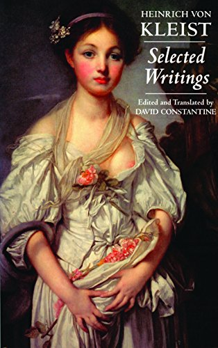 Kleist: Selected Writings