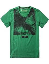 Strellson Sportswear Herren T-Shirt Modisch, Größe: L, Farbe: Grün