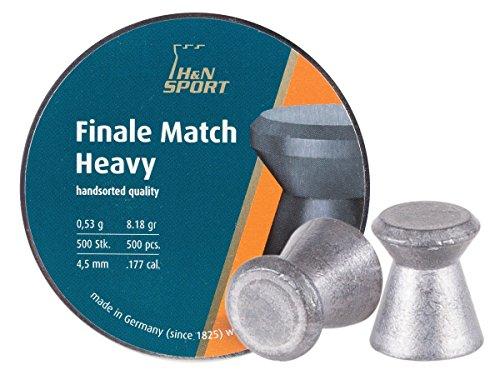 H&N Finale Match Heavy 4,50 mm Diabolo/Luftgewehrkugel