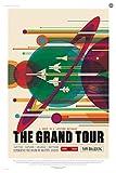 Spiffing Prints The Grand Tour NASA Space Tourism - Extra
