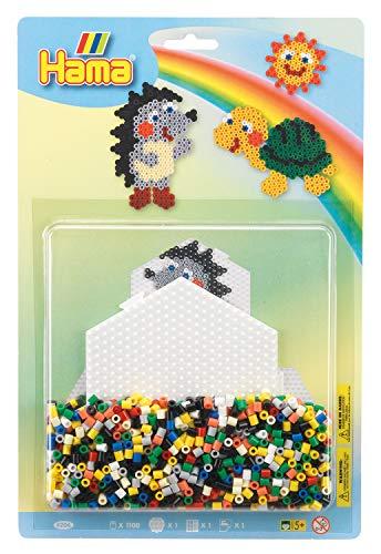 Hama 10.4206 Turtle - Juego de Cuentas de Mosaico (tamaño Grande), diseño de Tortuga