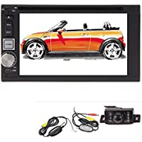 Short Lead Time!!! 6.2 inch Double DIN GPS Navigation Free 8GB MAP Card HD Touch Screen SD/USB Support AM FM Transmitter Support Steering Wheel Control/Subwoofer Output Built-In Bluetooth Remote Control 1 Water Proof and Night vision High Definition Wireless Backup camera included!