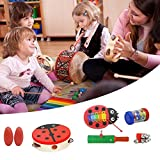 Holz Musical Toys lehrhilfe Kind Früherziehung Weisheit Entwicklung Musik Instrument Baby Noten Percussion Sticks Spielzeug Hand Knock Creative Beat Orff Eight-Piece Cartoon Kleine Knocking Piano