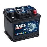 Bars Silver Autobatterie 12V 50Ah 470A Starterbatterie Wartungsfrei