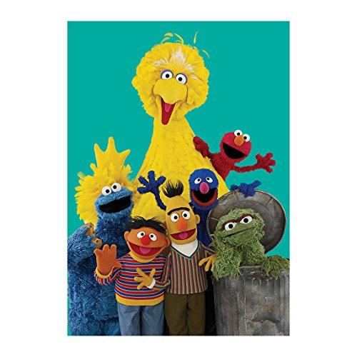 Sesame Street Zeichen Grußkarte