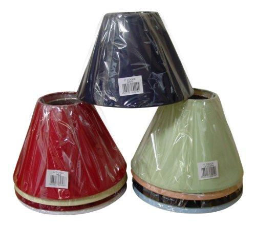 Lights Linen pantalla, varios colores disponibles, color crema/negro/azul/verde/23 cm, color rojo