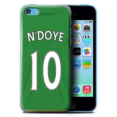 Officiel Sunderland AFC Coque / Etui pour Apple iPhone 5C / Pack 24pcs Design / SAFC Maillot Extérieur 15/16 Collection N'Doye
