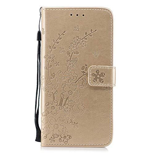 028429a46ba DENDICO Cover iPhone 8 Plus/iPhone 7 Plus, Custodia in Pelle Magnetica Portafoglio  Cover Protettiva, Cover a Libro con Porta Carte per Apple iPhone 8 ...