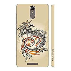 Enthopia Designer Hardshell Case Chinese Dragon Back Cover for Gionee Elife S6S