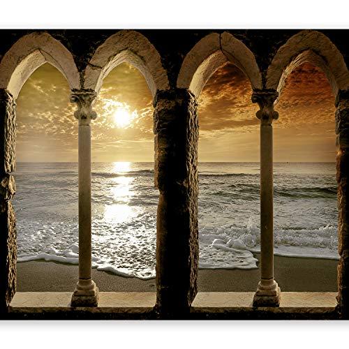 murando – Papier peint intissé – 400x280 cm – Trompe l oeil - Tableaux muraux – Déco –XXL architecture 10110904-27