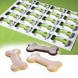 Unbekannt Martellato Kunststoff Knochen Form Cookie Cutter, weiß, 60x 40x 30cm
