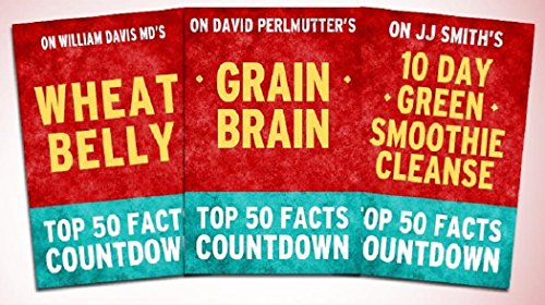 top-50-facts-countdown-bundle-set-5-pack-of-3-grain-brain-wheat-belly-10-day-green-smoothie-cleanse-