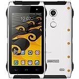 Homtom HT20 Pro Smartphone Libre, 4G Teléfono Inteligente(4.7 Pulgadas/ HD 1280* 720pixels Pantalla, MTK6753 Octa Core 1.3GHz, 3GB RAM + 32GB ROM, Android 6.0, 16.0MP Cámara Trasera + 8.0MP Cámara Frontal, Bluetooth 4.0, Dual SIM), Blanco