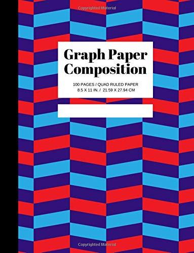 Graph Paper Composition: Grid Paper Notebook, Quad Ruled, 100 Sheets Graph Paper (Large, 8.5 x 11) por Joyful Journals