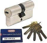 Abus ec660Profil Double cylindre Longueur (A/B) 40/60mm (C = 100mm) avec 6clés, avec carte de sécurité