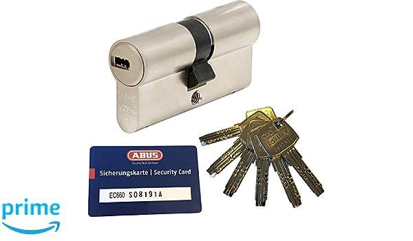 avec 10 cl/é a//b 35//50mm c=85mm ABUS EC550 Longueur de double cylindre