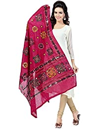 Banjara Women's Kutch Work Cotton Dupatta Chakachak