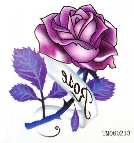 Étanches tatouage autocollants bricolage rose sexy