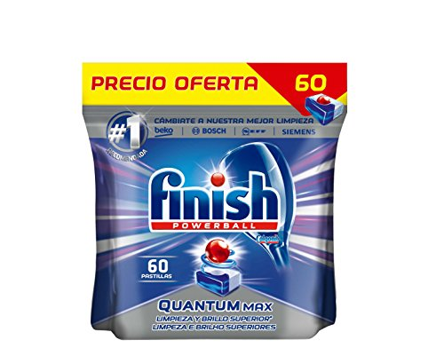 Finish Quantum Regular Pastillas para Lavavajillas - 60 pastillas
