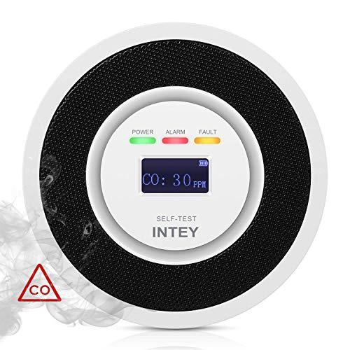 INTEY Detector de Monoxido Carbono Señal electroquímica Sensor de CO Alta Sensibilidad...