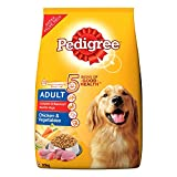 #5: Pedigree Dry Dog Food for Adult Dogs , Chicken and Vegetables, 20kg