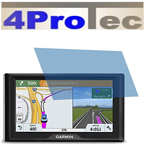 7 Bluetooth Zoll Garmin Gps (2x GEHÄRTETE ANTIREFLEX matt Displayschutzfolie für Garmin Drive 51 LMT-S Bildschirmschutzfolie)