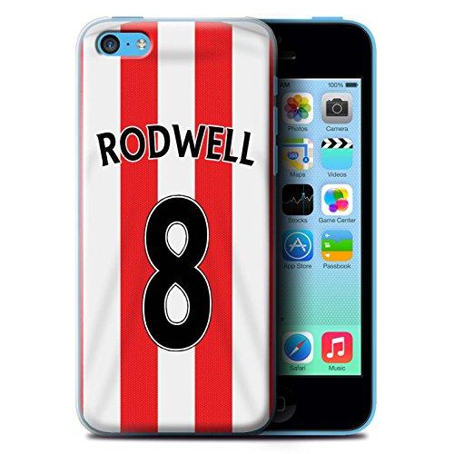 Offiziell Sunderland AFC Hülle / Case für Apple iPhone 5C / Fußballer Muster / SAFC Trikot Home 15/16 Kollektion Rodwell