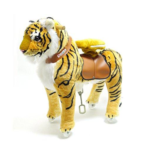 PonyCycle Boutique Officielle Equitation Tigre Marche mécanique Moyenne Taille