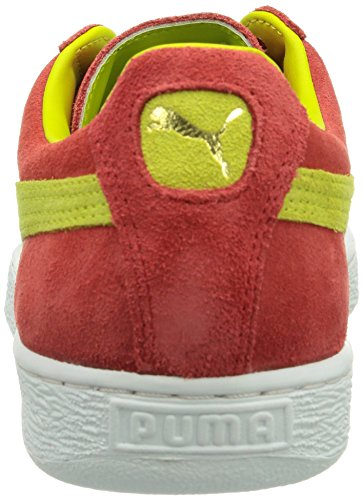 Puma Suede Classic + Herren Sneakers Rot (flame scarlet-sulphur spring 31)