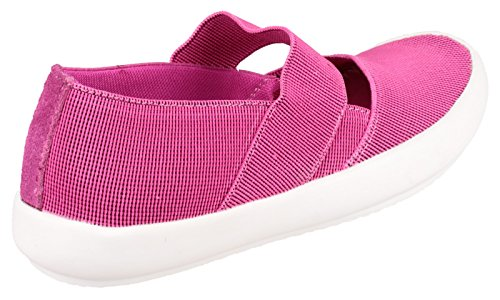 Cotswold Chedworth Mesdames Plain Canvas chaussures Fuchsia