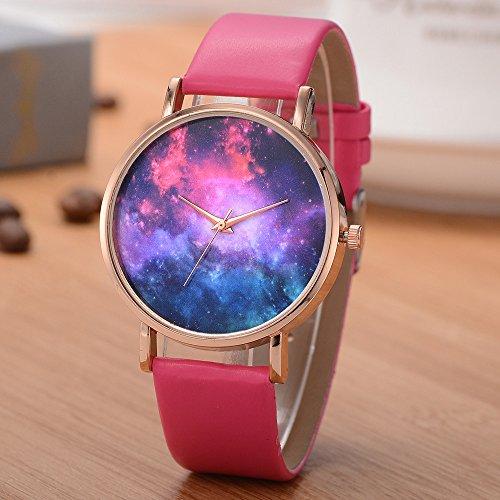 COOKDATE Uhren Frauen Quarz Armbanduhr Uhr Damen Kleid Geschenk Uhren eckige Pink5003 18024