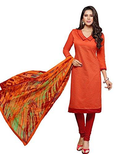 Manvaa Women's & Girl's Embroidered Salwar Suit