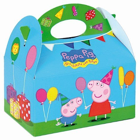 Peppa Pig Party Favors Box (Party Favors Peppa Pig)