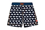 Lässig Splash & Fun Baby Board Shorts / Baby Badeshorts / UV-Schutz 50+ boys, S / 6 Monate, Blau (viking)