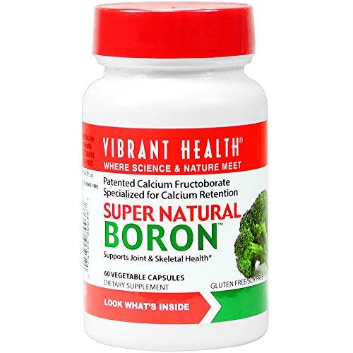 Super Natural Boron, 60 Veggie Caps - Vibrant Health - Qty 1