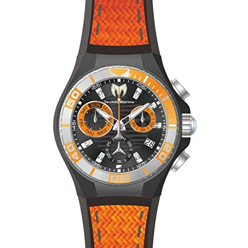 technomarine-cruise-homme-45mm-bracelet-silicone-orange-boitier-acier-inoxydable-quartz-montre-tm-11