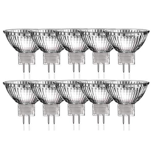 10 x Halogen Reflektor Glühbirne MR16 GU5,3 35W dimmbar warmweiss |Luminizer3315 -