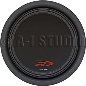 Alpine Swr-t12 12-Inch 1800 Watt 4 Ohm Shallow Mount Subwoofer