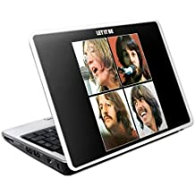 MusicSkins The Beatles Let It Be 209mm x 135mm Skin for Netbook - Small