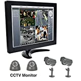 #1: 10 Inch TFT LCD Color Display Screen BNC HDMI Video For PC CCTV Monitor