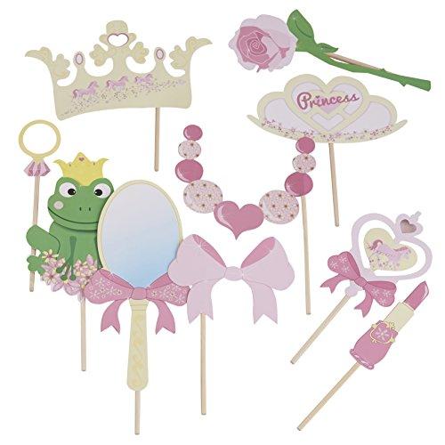 Photo Booth Foto principessa partito accessori, accessori per foto e angoli e feste di compleanno (Partito accessori)